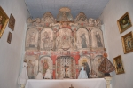 The Centuries-old, hand-crafted alter screen is the hallmark of Nuestra Senora del Rosario. Help us preserve the integri
